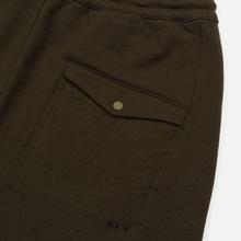 Мужские брюки maharishi Organic Military Type Embroidery Temple Bead Military Olive фото- 3