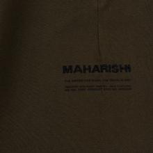 Мужские брюки maharishi Organic Military Type Embroidery Temple Bead Military Olive фото- 4