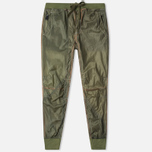Maharishi Recycled Vintage Parachute Men's Trousers Olive photo- 0