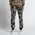 Мужские брюки maharishi Reversible Camo Tigerstripe Murale Black фото- 6
