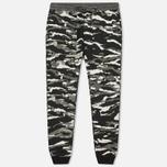 Мужские брюки maharishi Reversible Camo Tigerstripe Murale Black фото- 0