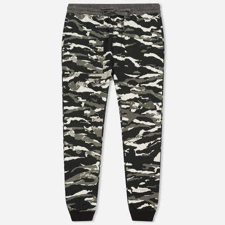 Мужские брюки maharishi Reversible Camo Tigerstripe Murale Black
