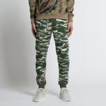 Мужские брюки maharishi Reversible Camo Tigerstripe Murale Forest фото- 6