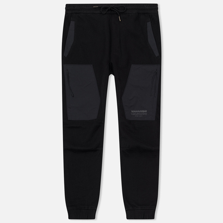 Мужские брюки maharishi Tech Sweat Secure Zip Pocket Black