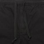 maharishi Track Coated Mer's Trousers Black photo- 3