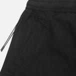 maharishi Track Coated Mer's Trousers Black photo- 2
