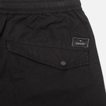 maharishi Track Coated Mer's Trousers Black photo- 1