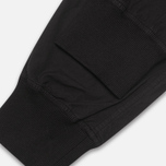 maharishi Track Coated Mer's Trousers Black photo- 4