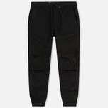 Мужские брюки maharishi Track Italian Feather Cotton Black фото- 0