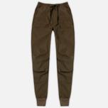 Мужские брюки maharishi Track Secure Zip Pocket Maha Olive фото- 0