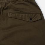 Мужские брюки maharishi Track Secure Zip Pocket Maha Olive фото- 3