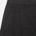 Мужские брюки Maharishi Wool Track Charcoal фото- 2