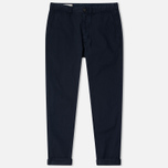 Мужские брюки Maison Kitsune Canvas Jay Chino Dark Navy фото- 0