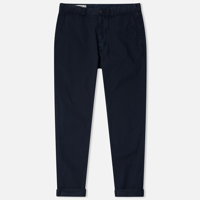 Мужские брюки Maison Kitsune Canvas Jay Chino Dark Navy