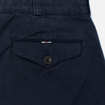 Мужские брюки Maison Kitsune Canvas Jay Chino Dark Navy фото- 3