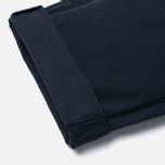 Maison Kitsune Canvas Jay Chino Men`s Trousers Dark Navy photo- 4