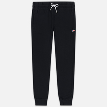 Мужские брюки Maison Kitsune Classic Jog Tricolor Fox Patch Black фото- 0