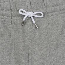 Мужские брюки Maison Kitsune Classic Jog Tricolor Fox Patch Grey Melange фото- 1