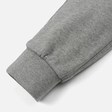 Мужские брюки Maison Kitsune Classic Jog Tricolor Fox Patch Grey Melange фото- 3