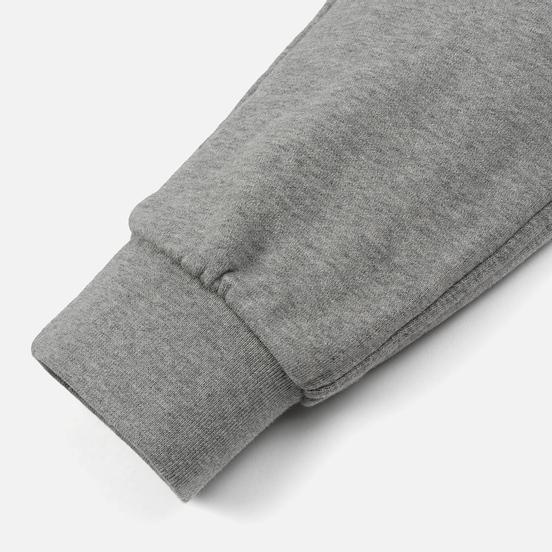 Мужские брюки Maison Kitsune Classic Jog Tricolor Fox Patch Grey Melange