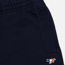 Мужские брюки Maison Kitsune Classic Jog Tricolor Fox Patch Navy фото- 2