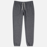 Мужские брюки Maison Kitsune Classic Jogg Black Melange фото- 0
