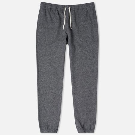 Maison Kitsune Classic Jogg Men's Trousers Black Melange
