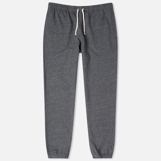 Мужские брюки Maison Kitsune Classic Jogg Black Melange