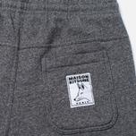 Мужские брюки Maison Kitsune Classic Jogg Black Melange фото- 3