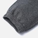 Мужские брюки Maison Kitsune Classic Jogg Black Melange фото- 4