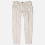 Мужские брюки Maison Kitsune Flannel Casual Beige фото- 0