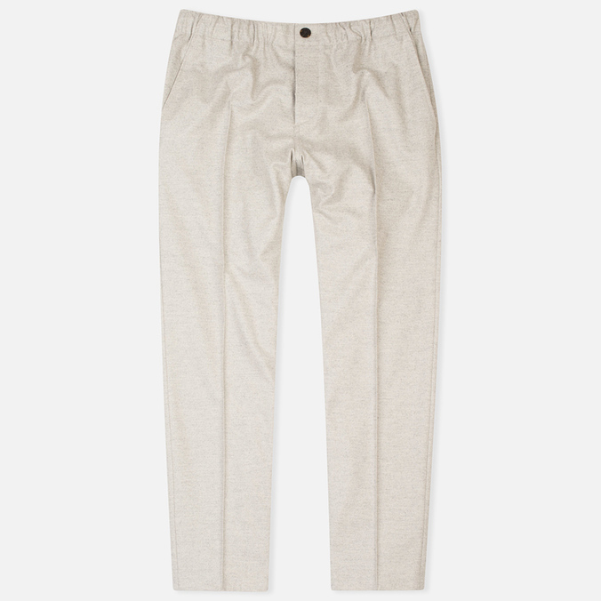 Мужские брюки Maison Kitsune Flannel Casual Beige