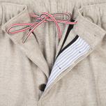 Мужские брюки Maison Kitsune Flannel Casual Beige фото- 2