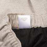 Мужские брюки Maison Kitsune Flannel Casual Beige фото- 6
