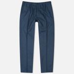 Мужские брюки Maison Kitsune Flannel Casual Blue фото- 0