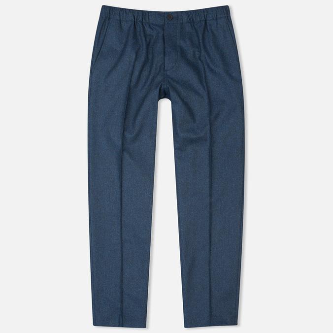 Мужские брюки Maison Kitsune Flannel Casual Blue