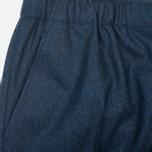 Мужские брюки Maison Kitsune Flannel Casual Blue фото- 4
