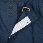 Мужские брюки Maison Kitsune Flannel Casual Blue фото- 3