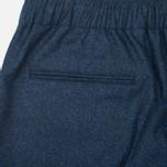 Мужские брюки Maison Kitsune Flannel Casual Blue фото- 1