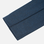Мужские брюки Maison Kitsune Flannel Casual Blue фото- 5