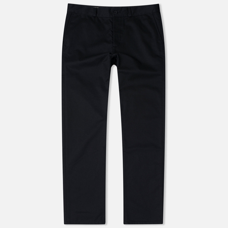 Maison Kitsune Jay Chino Men's Trousers Black
