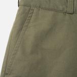 Мужские брюки Maison Kitsune Linen Jay Khaki фото- 2