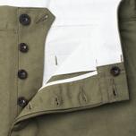 Мужские брюки Maison Kitsune Linen Jay Khaki фото- 1