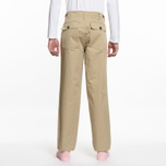 Мужские брюки Maison Kitsune Worker Beige фото- 6