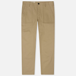 Мужские брюки Maison Kitsune Worker Beige фото- 0