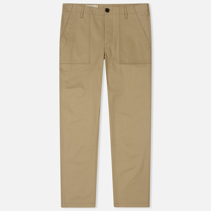 Мужские брюки Maison Kitsune Worker Beige