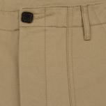 Мужские брюки Maison Kitsune Worker Beige фото- 1