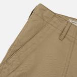 Мужские брюки Maison Kitsune Worker Beige фото- 3