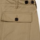 Мужские брюки Maison Kitsune Worker Beige фото- 4