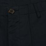 Мужские брюки Maison Kitsune Worker Black фото- 1